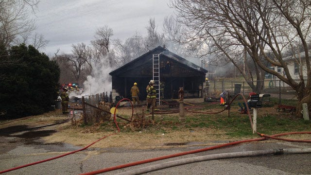 Spencer Home Destroyed By Fire
