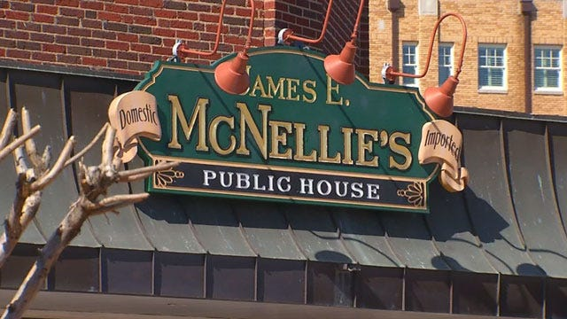 OKC McNellie's Evacuated After Gas Leak Sparks Fire