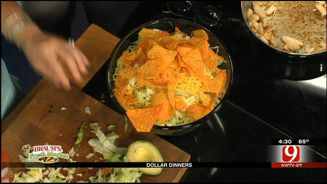 Dollar Dinners: Chicken Taco Salad