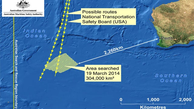 MH 370 Search: Chinese, Australian Planes Spot 'Objects' In Indian Ocean