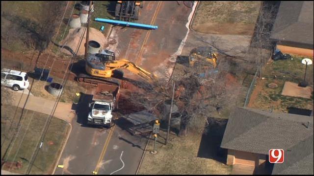NE OKC Neighborhood Evacuated Due To Gas Leak