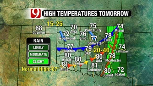 Warmer Temps, Storm Chances On The Rise In Oklahoma