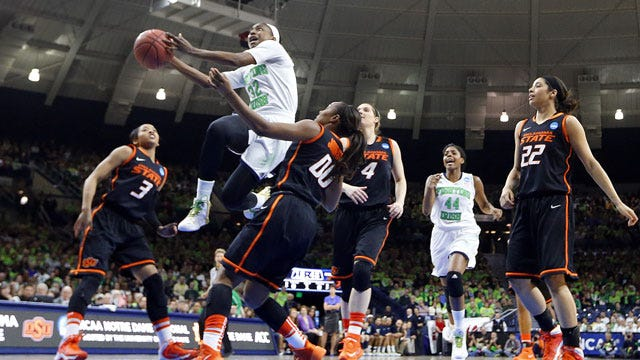 Notre Dame Knocks Cowgirls Out Of Tourney
