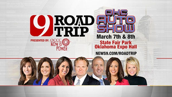 News 9's Road Trip Rolls On to the OKC Auto Show