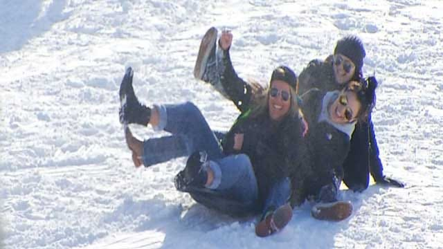 Snow Day Called For Most Oklahoma Children