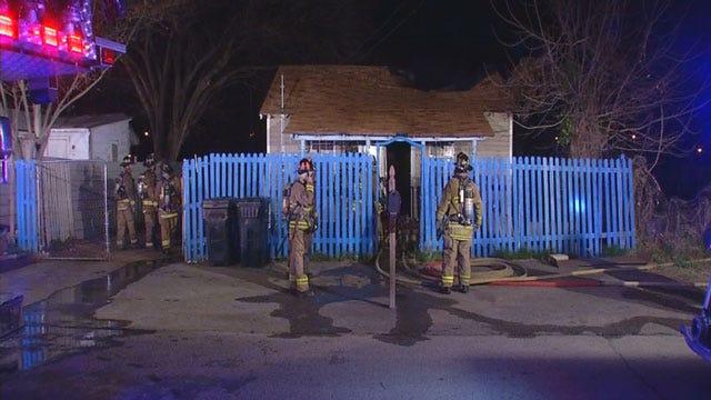 Early Morning Fire Destroys SE OKC Home
