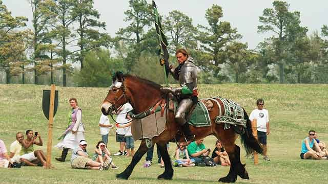 News 9's Road Trip Visits the Medieval Fair of Norman