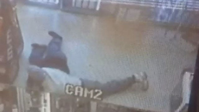 Caught On Camera: Two Suspects Rob NW OKC Convenience Store