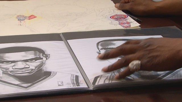 Metro Artist Shares His Inspiration Behind Artwork