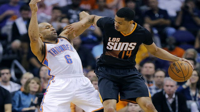 Here Comes The Suns: Phoenix Tops Thunder In Wild Shootout