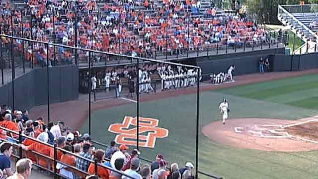 No. 12 OSU Baseball Splits Doubleheader