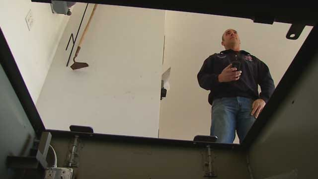 Moore Firefighter Develops Storm Shelter Location App