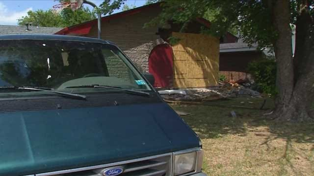 Car Crashes Into OKC Home After Police Chase