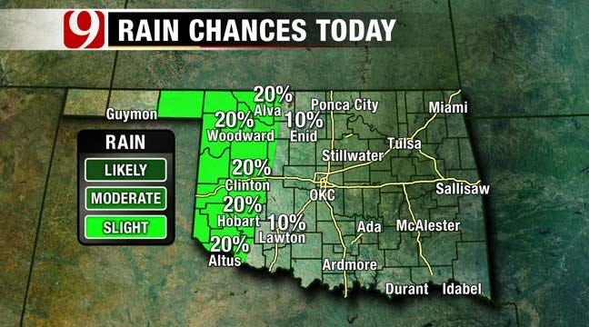 Sunday Forecast: Windy And Hot With Chance Of Rain Late