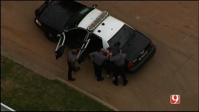 Man In Custody After High Speed Chase In NW OKC