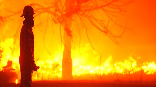 Logan County Wildfire Destroys Or Damages About 60 Properties