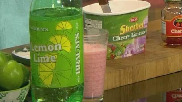 Double Cherry Limeade Freeze