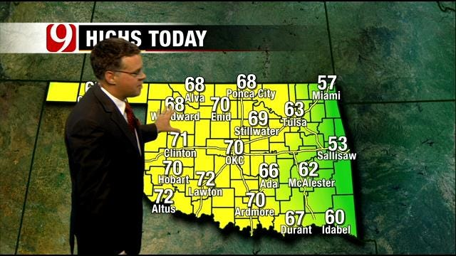 Pleasant Weather Pattern In Oklahoma