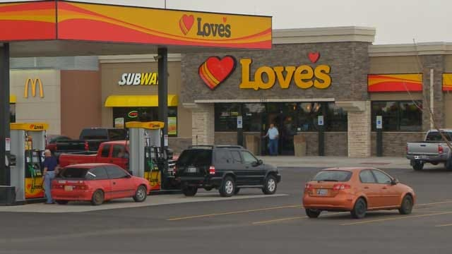 Choctaw Love's Store, Wiped Out By 2010 Tornado, Re-Opened