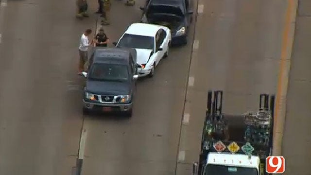 Crews Respond To Multiple Collisions In Oklahoma City