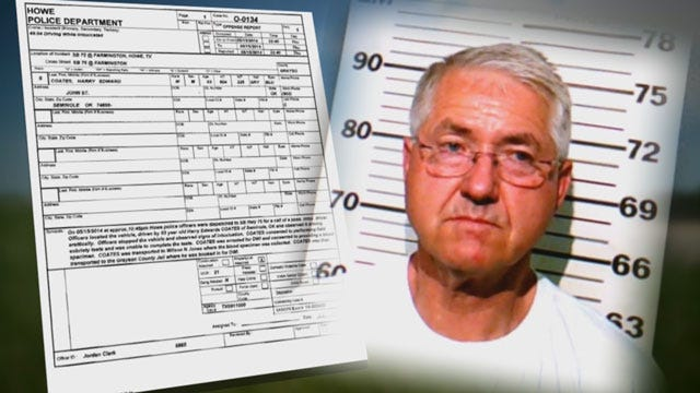OK Senator Harry Coates Arrested For Driving While Intoxicated