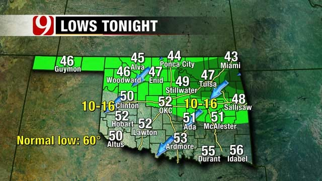 Pleasant Weekend Shaping Up For Much Of Oklahoma