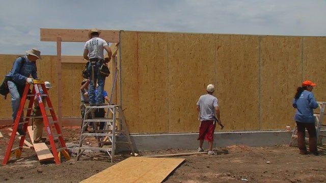 Habitat For Humanity Rebuilds Home Lost In Tornado