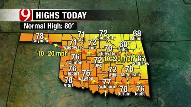 Heat Returns Next Week, Rainfall Expected Memorial Day Weekend