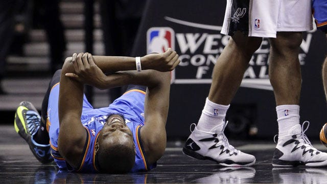Down But Not Out: Thunder Fall To Spurs In Game 1
