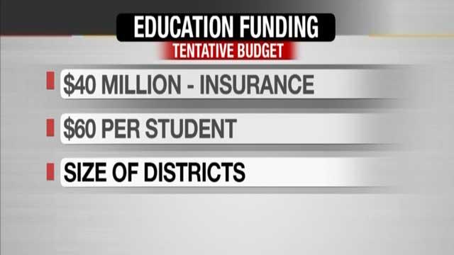 Okla. Tentative Budget Includes $80 Million In Education Funding