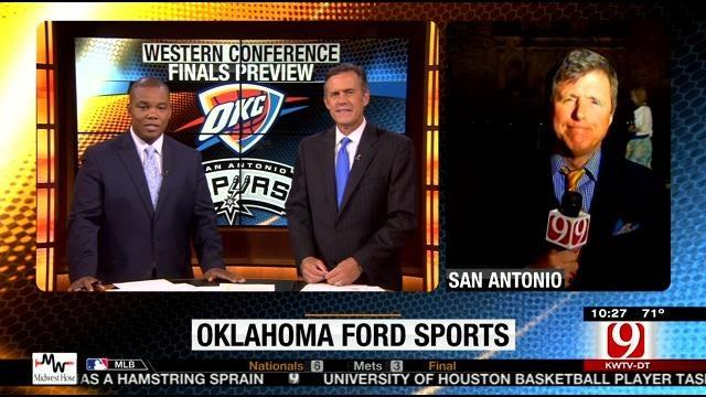 Oklahoma Ford Sports Blitz: May 18