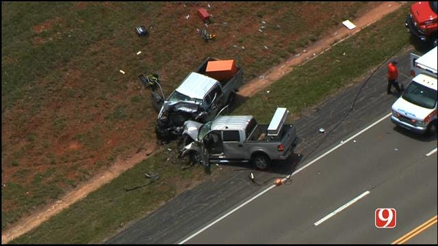 Three Killed, One Injured In Head-On Collision In Choctaw