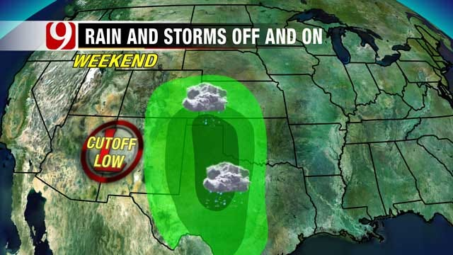 Windy And Hotter This Week, Chance Of Rain This Weekend