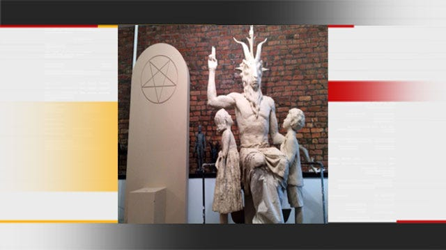 Satanic Temple Reveals First Look At Monument At State Capitol
