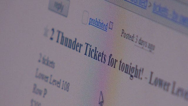 Scammers Target Thunder Fans Looking To Score Playoff Tickets