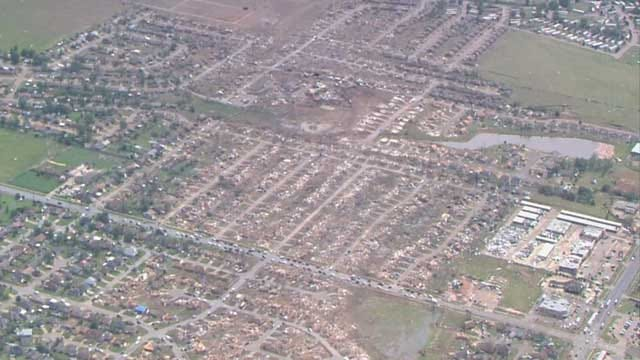 One Year Later: News 9's Amanda Taylor, Karl Torp Visit Areas Affected By May 20 Storm