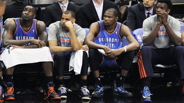 Thunder Game 1 Lineups: The Good, The Bad & The Ugly