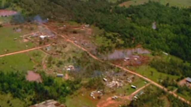 Tornado Victims Remember What It Was Like As Their Home Took A Direct Hit