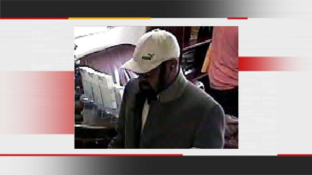 FBI Searches For Suspect In N.W. OKC Bank Robbery