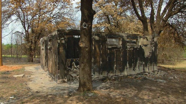 Guthrie Camp Still Cleaning Up Wildfire Damage