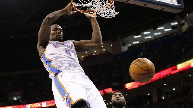 Thunder's Ibaka Issues Statement, Thanks Fans