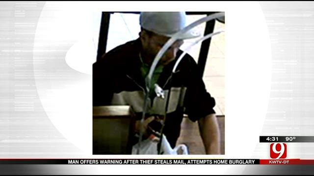 Police Searches For Car Thief In NW Oklahoma City