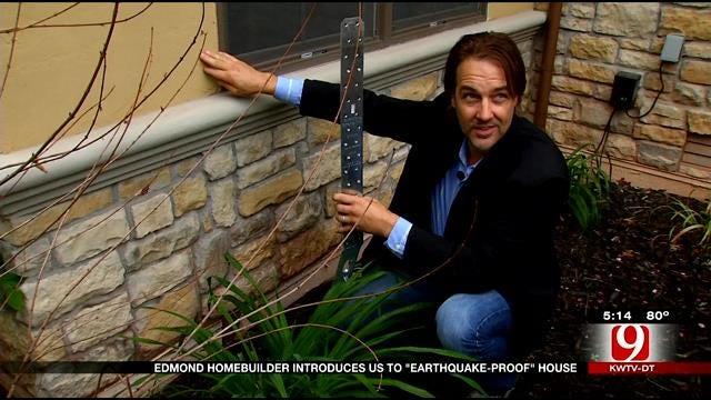 California Man Builds Quake Proof Home In Edmond