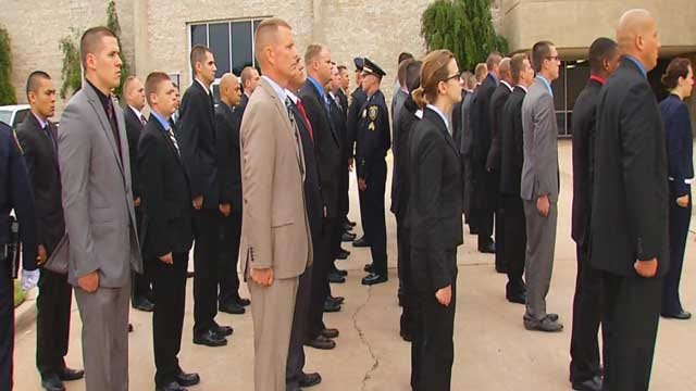 Recruits Training In New OKC Police Academy