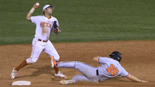 Texas Pitching Silences Oklahoma State Bats