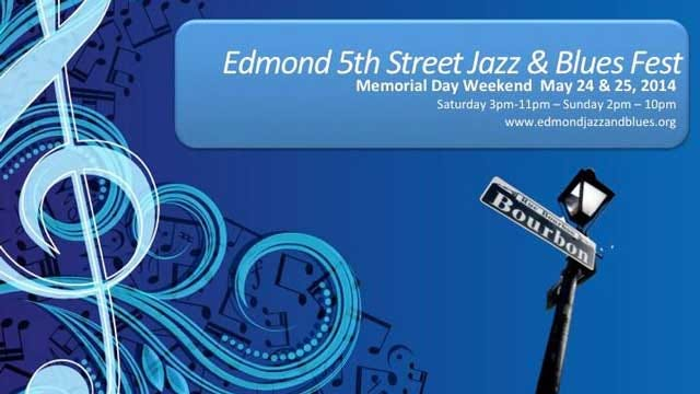 5th Street Edmond Jazz & Blues Festival Celebrates 25th Year