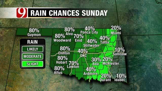 Rain Chances Show Another 1-3 Inches Before Showers End