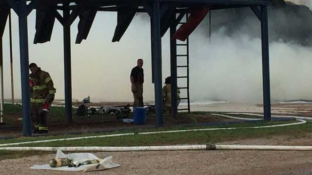 Crews Respond To Fire At Express Family Ranch