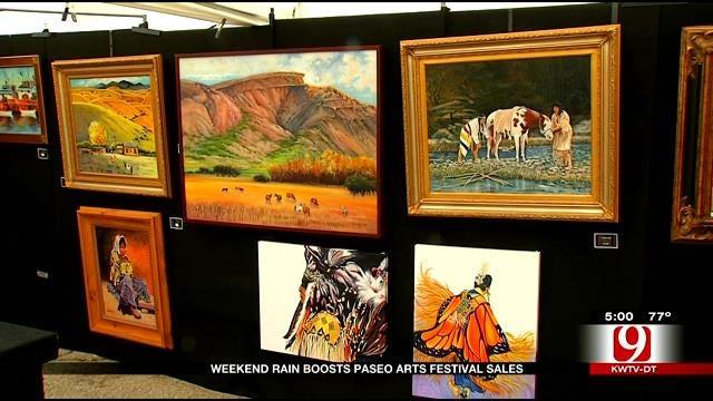 Paseo Arts Fest Successful Despite Rain