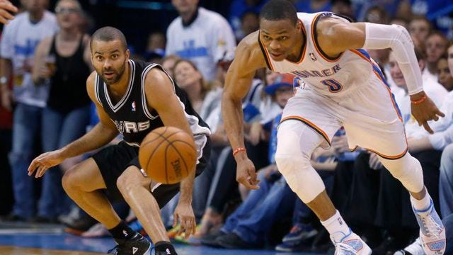 Loud City Statement: Thunder Demolishes Spurs, Evens Series At 2-2